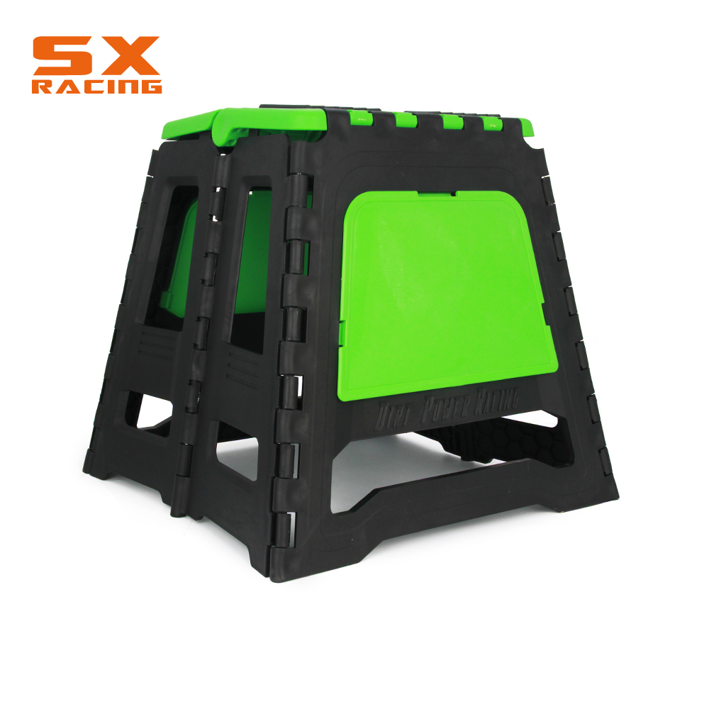Motorcycle Universal Plastic Stand Stool Repairing Folding Lift Repair Holder For KTM EXC SX XC YZ YZF WR KX KLX RM RMZ DR DRZ