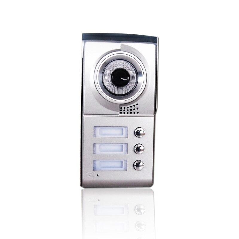 Homefong 3 Apartment Family Video Door Phone Intercom