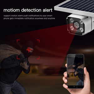 Image 5 - 4G SIM Card Wireless Solar IP Camera 1080P HD Bullet Security Camera IR Night Vision Solar Powered CCTV Surveillance Cam