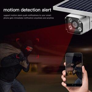 Image 5 - 4G SIM kart kablosuz güneş IP kamera 1080P HD Bullet güvenlik kamera IR gece görüş güneş enerjili CCTV gözetleme kamerası