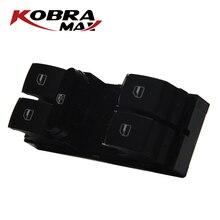 مفتاح النافذة الرئيسي الأيسر للطاقة من KobraMax طراز 3C8959857 مناسب لسيارات Volkswagen Passat CC مقعد أرنب جولف ليون