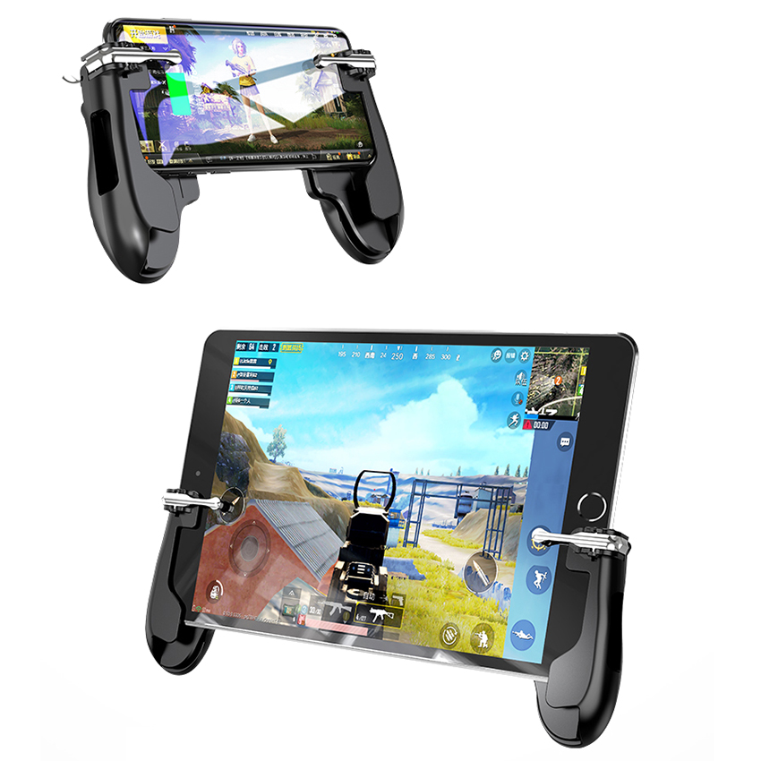 Universal Phone Mobile Gaming handle stand for PUBG Mobile Game Controller For tablet for phone image