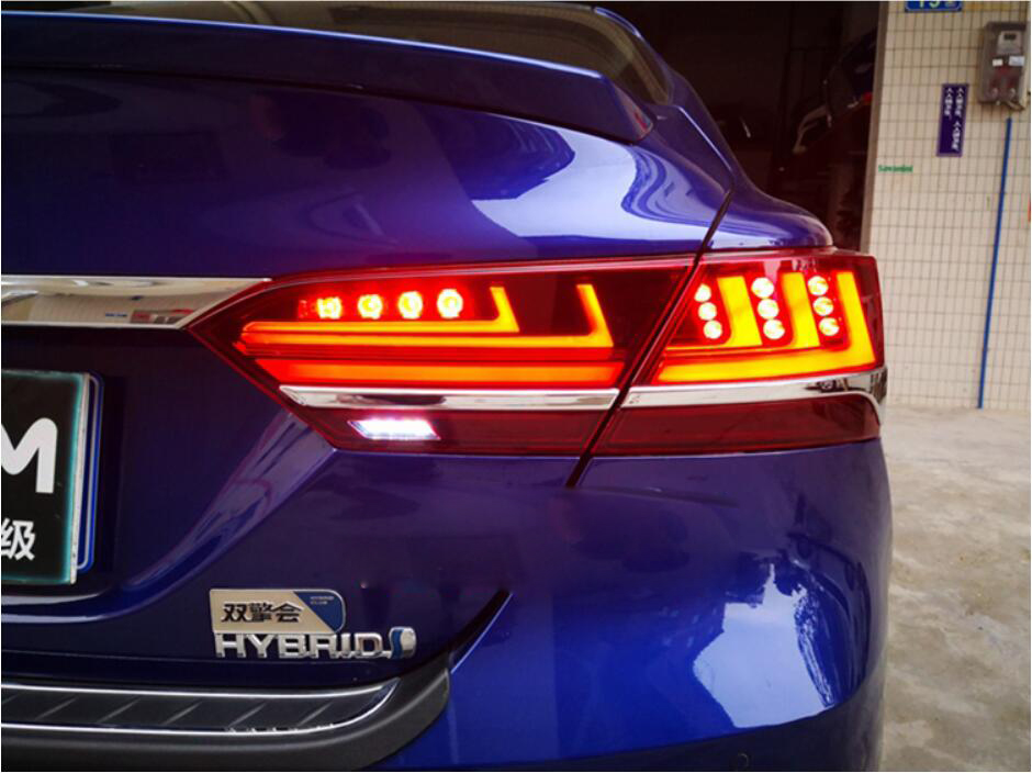 dynamic moving 2018 2019 Camry taillight LED Camry rear lamp car accessories Camry fog lamp Corolla