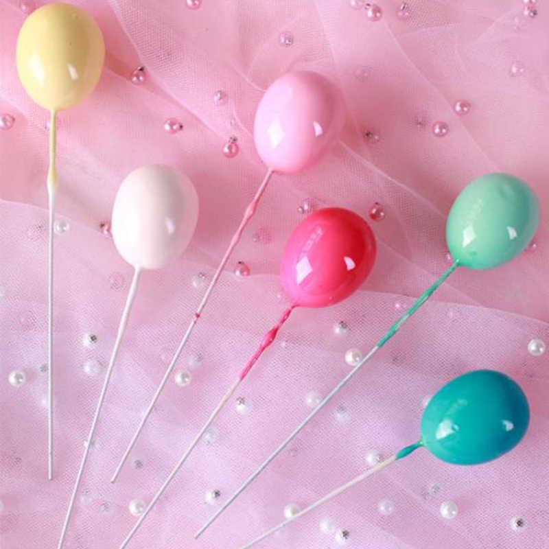 Arco-íris unicórnio bolo topper casamento decoração do bolo de aniversário nuvem balão bolo bandeiras cupcake topper unicórnio fontes de festa