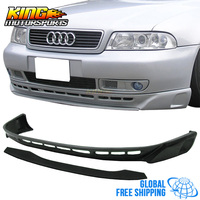 For 96 97 98 99 00 01 Audi A4 B5 Type A Polyurethane Front Bumper Under Lip Spoiler Global Free Shipping Worldwide