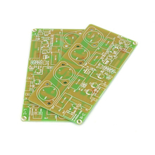 SUQIYA ücretsiz kargo bir çift HOOD JLH2003 altın mühürlü tüp güç amplifikatörü PCB