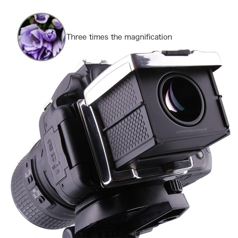 Viseur optique pliable Director 3X pour SONY A7II/A7III/A9/RX100 I-V/RX1/RX10 Series