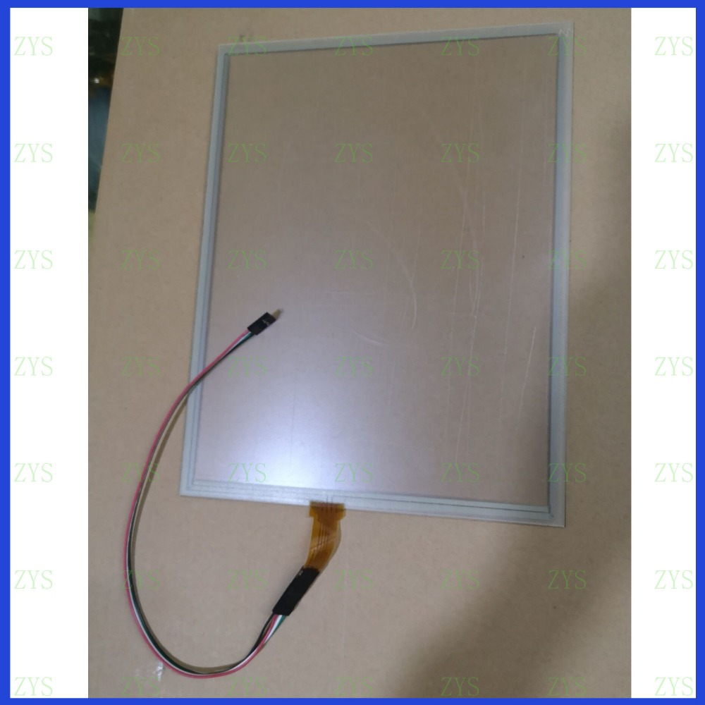 ZhiYuSun 266mm*203mm Touch Screen 12inch 4 Wire Resistive USB Touch Panel 266*203 For MICROTOUCH Compatible R412.1120707