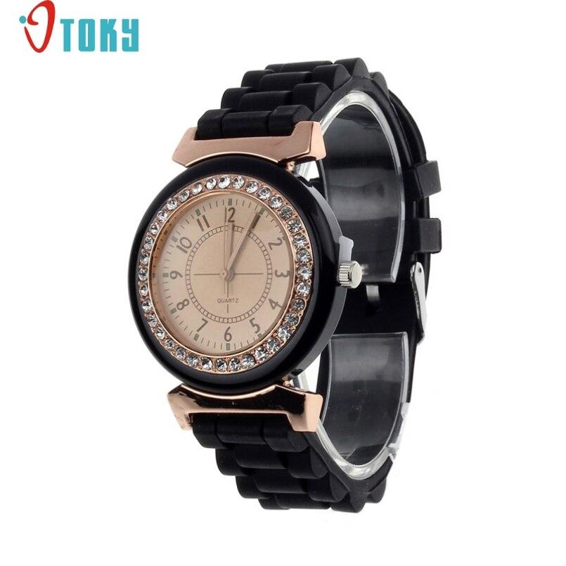 Excellent Quality OTOKY Fashion Silicone Quartz Watch Women Jelly Sport Wristwatch,Woman Dress Brand Watches,Casual Women Watch