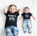 Летние топы для малышей, мальчиков, Детская футболка, повседневная одежда с коротким рукавом для малышей, топы, забавная Милая модная одежда...