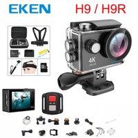 Original 100% EKEN H9 / H9R Action camera Ultra HD 4K WiFi 1080P/60fps 2.0 LCD 170D lens Helmet Cam waterproof pro sports camera