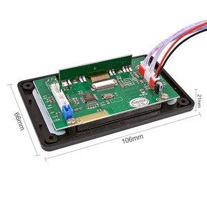 Image 5 - AIYIMA 5V LCD MP3 מפענח לוח Bluetooth 4.2 אודיו מקלט APE FLAC WMA WAV פענוח תמיכה הקלטת רדיו מילות תצוגה