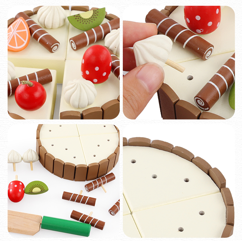 Wooden-Simulation-Cake-and-See-Every-Toy-Size-11-cm-3-cm-To-The-Childs-Birthday-Present-Montessori-Interests-Intellectual-Toy-3