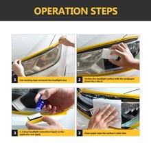 9H Car Headlamp Polishing Anti-scratch DIY For Car Head Lamp Lens, Increase Visibility Headlight Restoration Kit