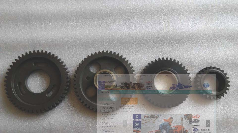 Laidong KM4L22BD-4E parts, the set of gears for generator engine KM4L22BD-4E, LL480, parts as showed каталог mitre