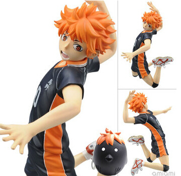 NEW 17cm Haikyuu Hinata Syouyou action figure toy Christmas gift doll