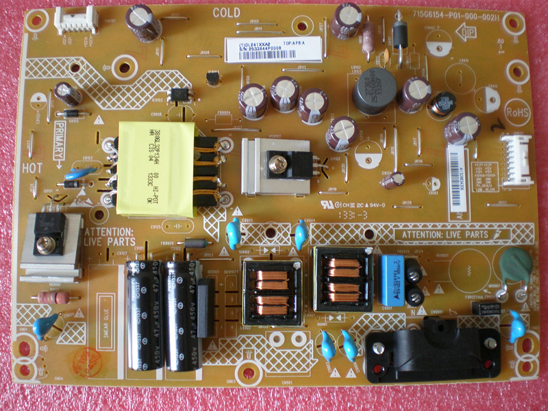 ФОТО Free Shipping>Original 100% Tested Working 715G6154-P01-000-002H same 715G6154-P02-000-002H  power board