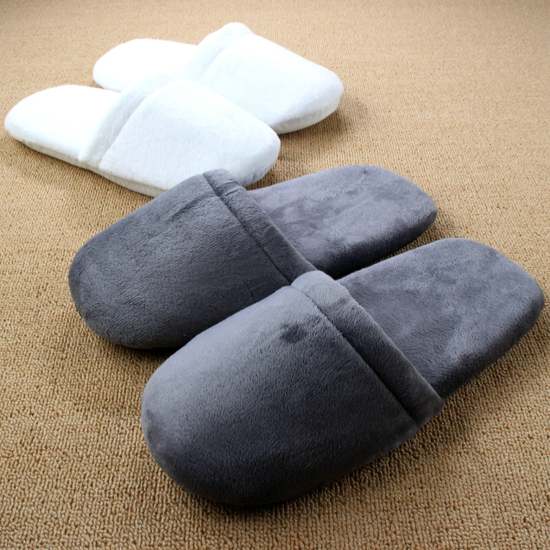 Cotton-padded Cashmere 2017 New Floor Retail Hotel Women Indoor Slippers For Men Home Shoe Floor Soft Indoor Warm Plush Slipper контактные линзы 365 day контактные линзы 1 5 3мес
