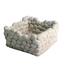 Nicole Silicone Mold for Concrete Flowerpot Square Succulent Planter DIY Ashtray Candle Holder Mould