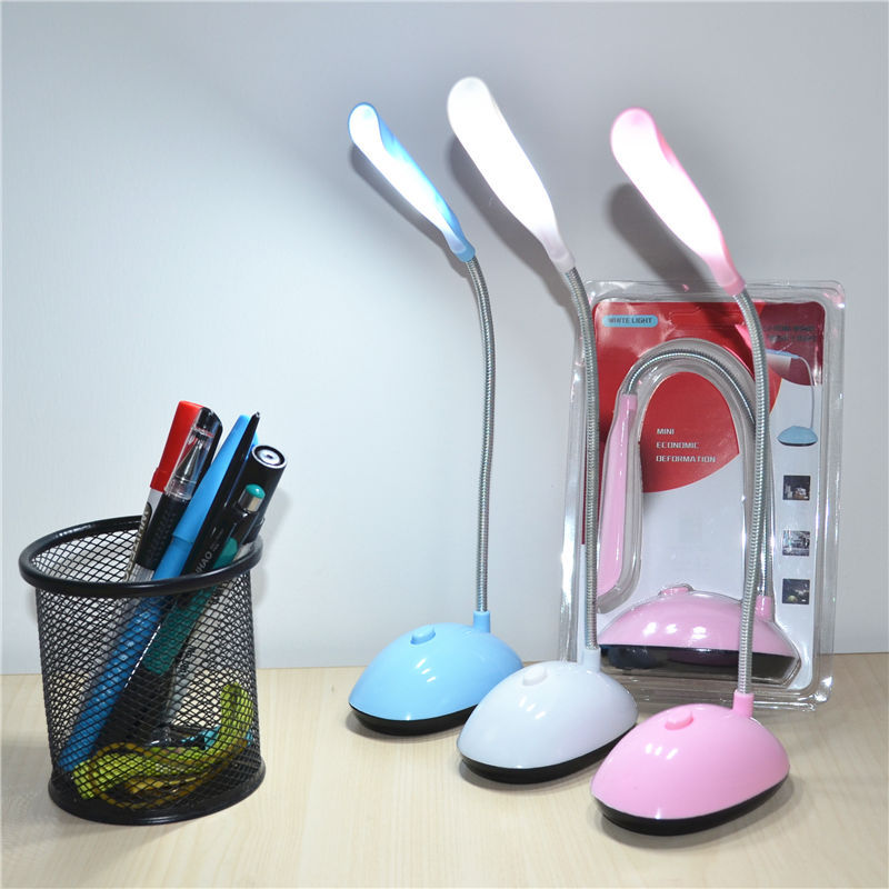 LED Eye Protection Student Small Table Lamp Installed AAA ...