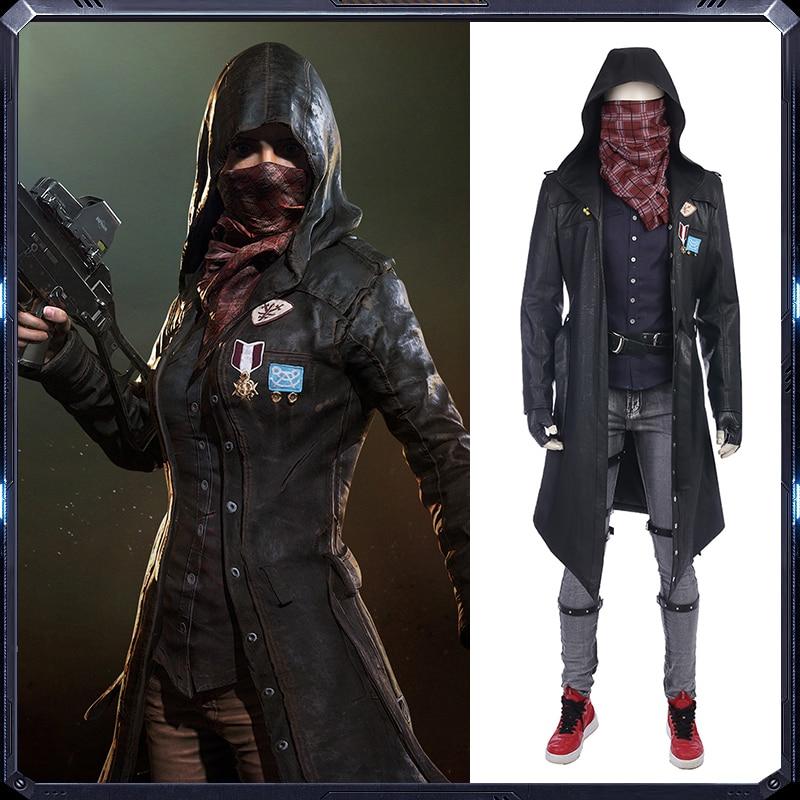 2018 Uusin Jedi Survival Game Cosplay-puku miesten vaatteet Koko puku - Carnival puvut