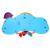KAWO Dos Desenhos Animados Simulação Fingir-to-Drive Volante Toy com Efeito de Som de Música e Luz Flasing