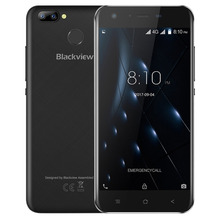 "Blackview A7 Pro 4G LTE Mobile phone Android 7.0 MTK6737 Quad core 5.0""HD 2GB RAM 16GB ROM Dual Rear Camera Touch ID Smartphone(China)"