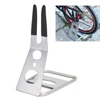High Quality Bicycle Floor Stand Holder MTB Bike Bicycle Storage Rack Triangle Rear Hub Mount Outdoor