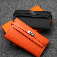Luxury Genuine Leather Wallets Woman Casual Women Fashion woman wallet leather wallet