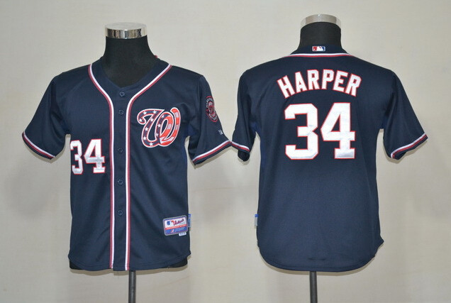bryce harper youth jersey