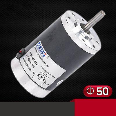 ZYTD-50SRZ-R DC 12V 24V 50mm Micro-MotorsTorque Reversible Adjustable Speed 2000RPM-6500RPM zytd 80srz 9f1 12v 24v 80mm 90w