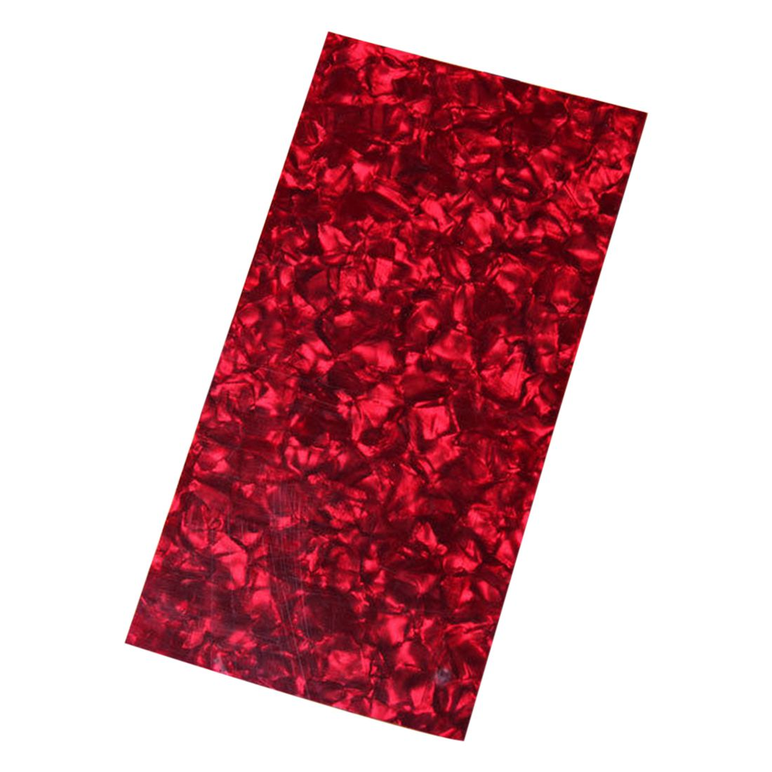 NEW RED Celluloid Guitar Head Veneer Shell Sheet Guitar Parts 20*10*0.7cm Gift 42 inch sapele veneer wood guitar veneer acoustic guitar technique of lacquer bake dumb light suitable for teaching performance