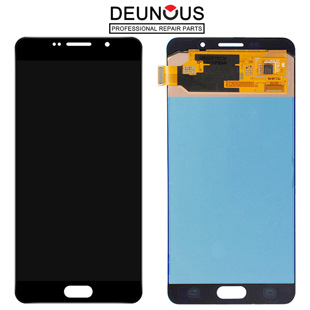 A710 LCD Replacement For Samsung Galaxy A7 2016 A710 A7100 A710F A710M LCD Display Touch Screen Digitizer Assembly BrightnessA710 LCD Replacement For Samsung Galaxy A7 2016 A710 A7100 A710F A710M LCD Display Touch Screen Digitizer Assembly Brightness