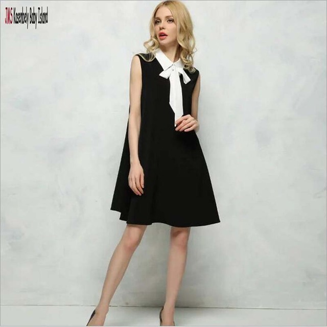 4912f95015a JMS Kasenbely Maternity Dresses Notched maternity Clothes Black Business Office  Pregnancy Dresses Chiffon Loose PregnancyClothes