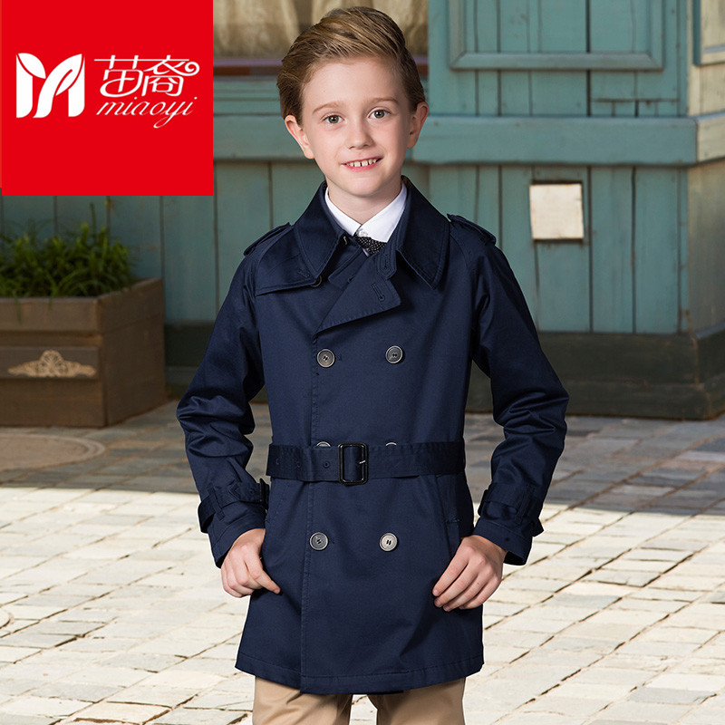 New boy's jacket   6 to 15 years  old clothing, boys long trench coat  Fashion  Overcoat Male Child Outerwear Boy Jacket 2017 winter coat grandma installed in the elderly women 60 70 80 years old down jacket old lady tang suit