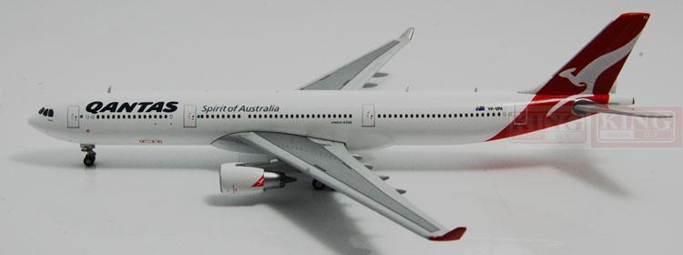 GJQFA1199 GeminiJets Australian aviation VH-QPA 1:400 A330-300 commercial jetliners plane model hobby 11010 phoenix australian aviation vh oej 1 400 b747 400 commercial jetliners plane model hobby