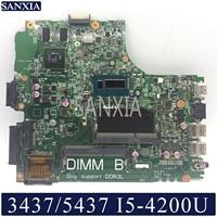 KEFU 12314 1 motherboard for Dell Inspiron 14R 3437 5437 original mainboard I5 4200U GT720M