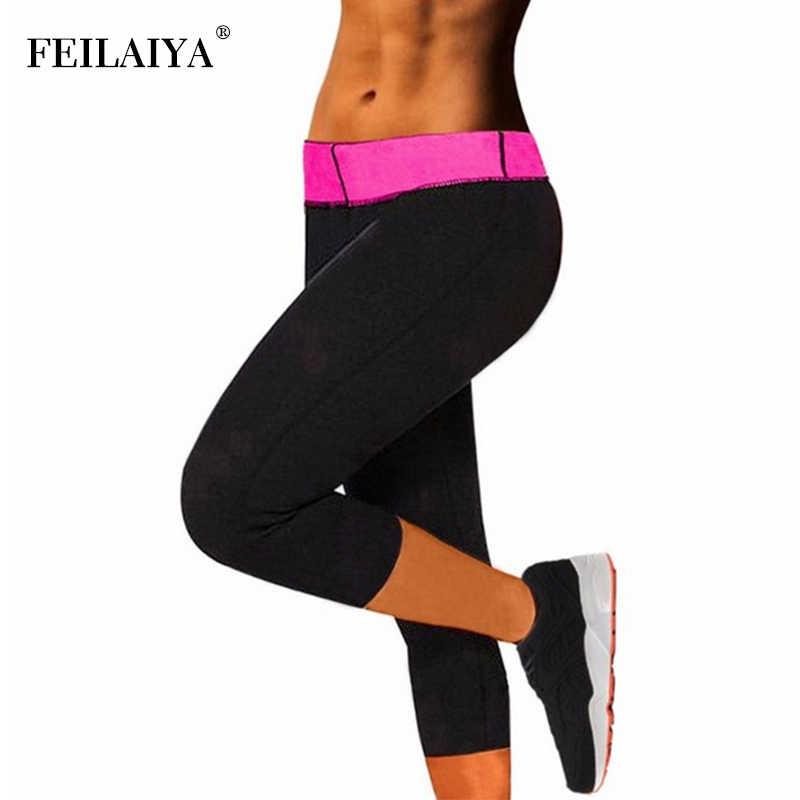 191a68a3b Control Panties Slimming Pants for Women Neoprene Sweat Sauna Body Shaper  Plus Size Shapewear Weight Loss