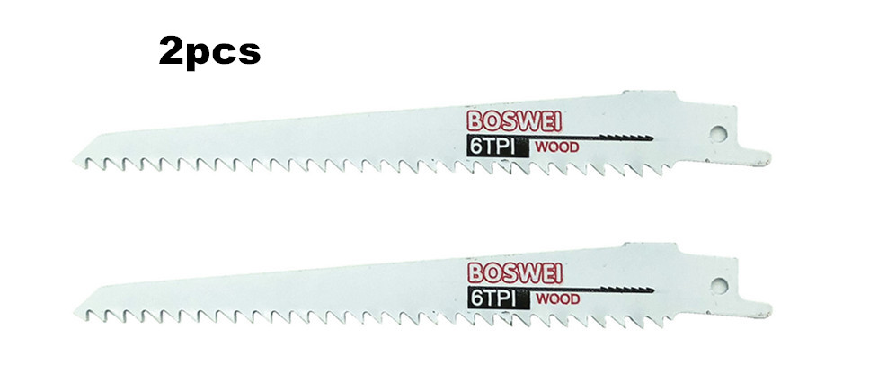 Promotion 2 Pcs 6''/150mm Jig Saw Blades Reciprocating Saw Blade For Wood Cutting Woodworking Tools Power Tool Accessories