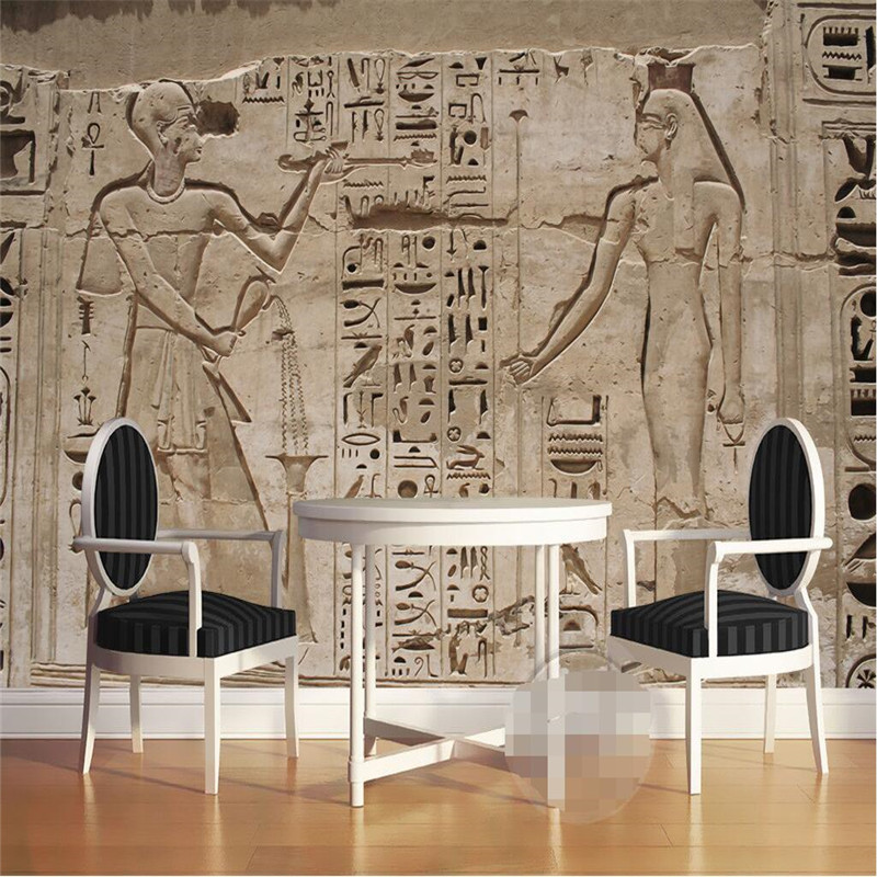 Mural Wallpaper Home Decor Photo Background Wall Paper Photography Cultural Relics Civilizations