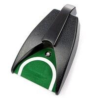 Golf kulübü topu kick geri otomatik dönüş kupası cihazı eğitim yardımları koyarak aksesuarları aracı