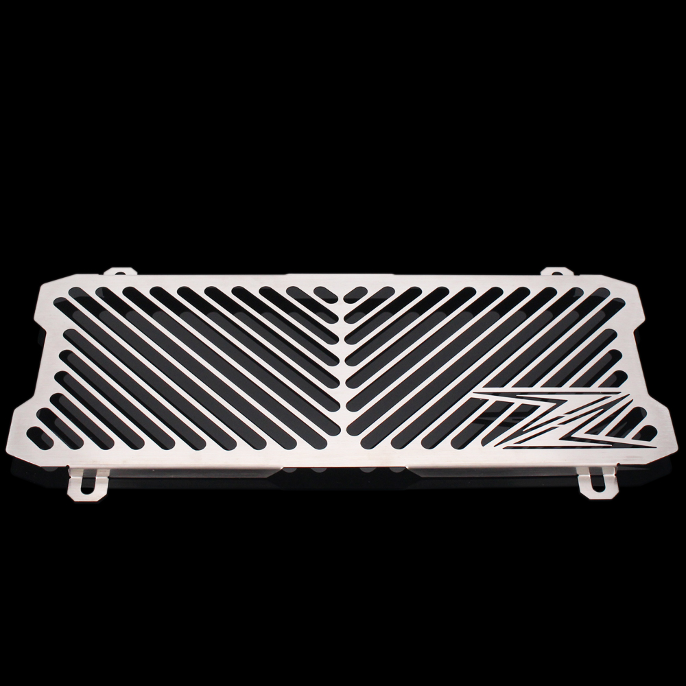 Silver Color Motorcycle Accessories Radiator Guard Protector Grille Grill Cover For KAWASAKI Z650 /Z 650 2017 motorcycle arashi radiator grille protective cover grill guard protector for kawasaki z800 2013 2014 2015 2016