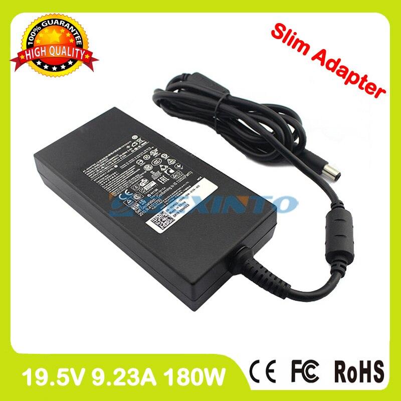 Mince 19.5 V 9.23A chargeur pour ordinateur portable adaptateur secteur pour Dell Alienware 15 R3 pour Inspiron 15 7577 Vostro 15 7570 7580 P11E002