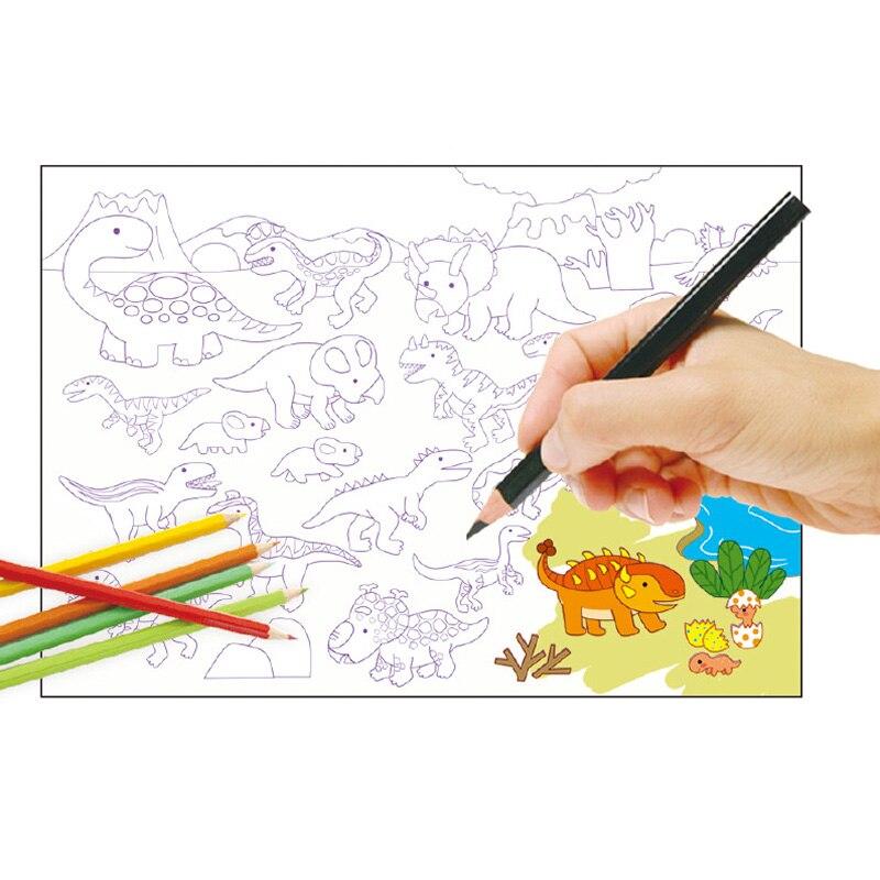 750 + pegatinas libros y colorear/Graffiti libros para niños 6 ...