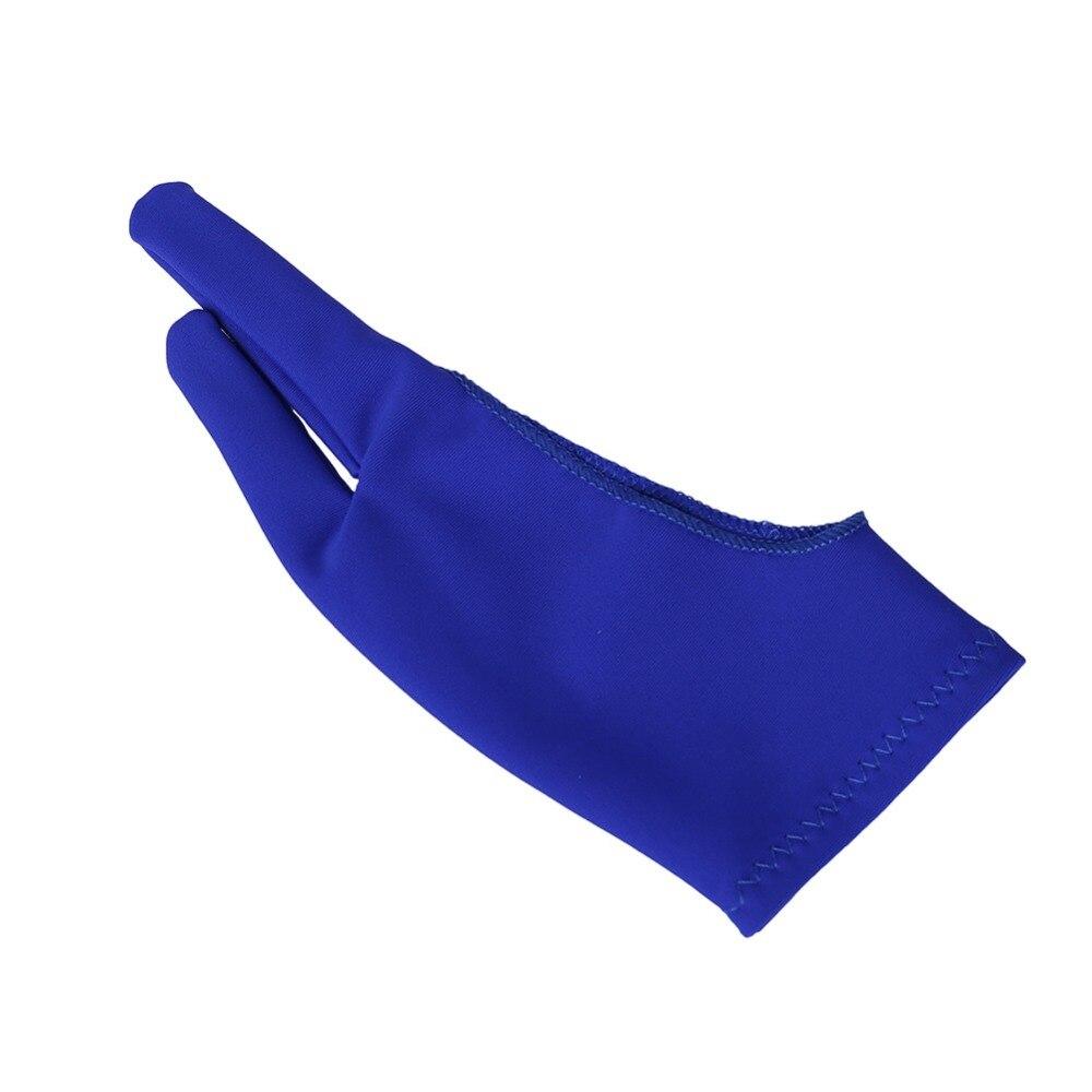 Intellektuell 1 Stücke Sowohl Für Rechts Und Links Hand Anti-fouling Zeichnung Handschuh 2 Finger Malerei Künstler Handschuh Digitale Tablet Handschuh