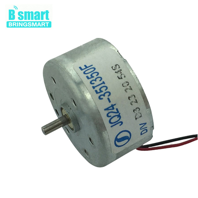 Bringsmart Rf 300ea Mini Motor Dc High Sd 1 5 6 5v Electric 6v For The Cd Player Inside Car Solar Energy Diy Parts
