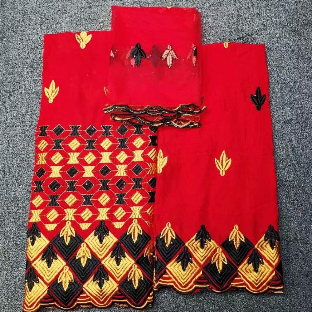 Czerwony kolor tkaniny koronki nigerii 2019 afrykański szwajcarski woal koronki szwajcarska koronka wysokiej jakości w szwajcarii na ślub w Koronka od Dom i ogród na  Grupa 1