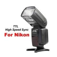 Zomei ZM580T TTL High Sync Speed Flash Speedlite Speedligt Flash For Nikon DF D5500 D3200 D5200 D5300 D7000 D7100 D610 D750 D90