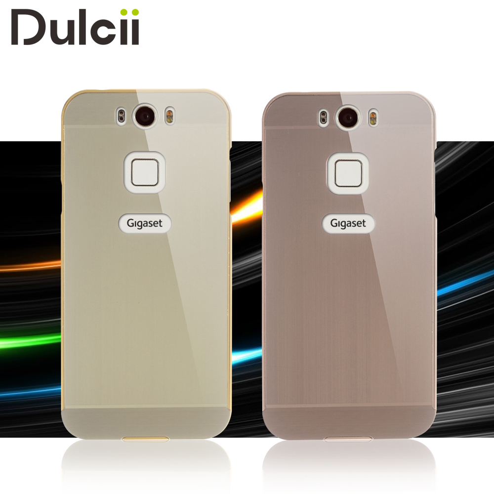 Smartphone Cases Us 7 79 Dulcii Smartphone Case For Gigaset Me Phone Cases Metal Bumper Brushed Acrylic Back Phone Bag Shell Case For Gigaset Me Cover In Fitted