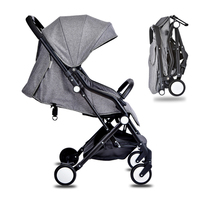Baby stroller buggy for dolls child ultra lightweight folding strollers for babies travel can sit lie pram light trolley